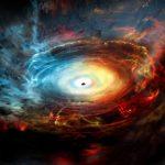Kunnen zwarte gaten worden gemaakt van donkere energie?