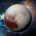 What is behind Pluto?