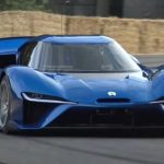 Chinese electric car Nio EP9 1341 hp - the car of the future?