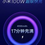 Xiaomi is preparing a charge of 100 watts. Maybe for MIX 4