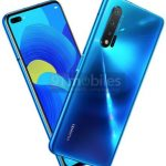 Render Huawei nova 6: a new cut of the screen