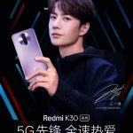 Redmi K30 on the official render boasts an unusual design