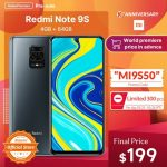 Redmi Note 9S from $ 199 here and now: promotional codes for a discount