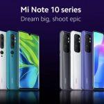Spécifications Xiaomi Mi Note 10 Lite révélées à la veille de l'annonce