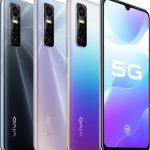 Aankondiging. De Vivo S7e 5G is een andere smartphone uit het middensegment voor de Chinese markt