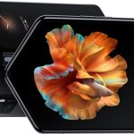 Announcement. Smartphone tablet Xiaomi Mi Mix Fold. Flexible, expensive